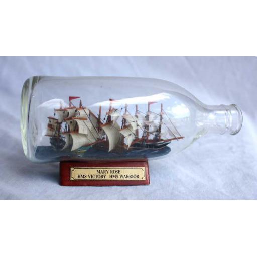 3 Ships in a Bottle