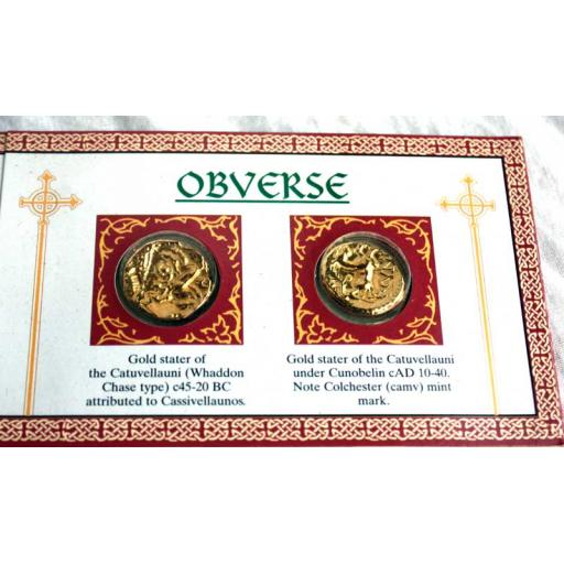 2 x Celtic Coins