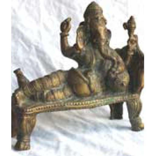 Large Brass Ganesh