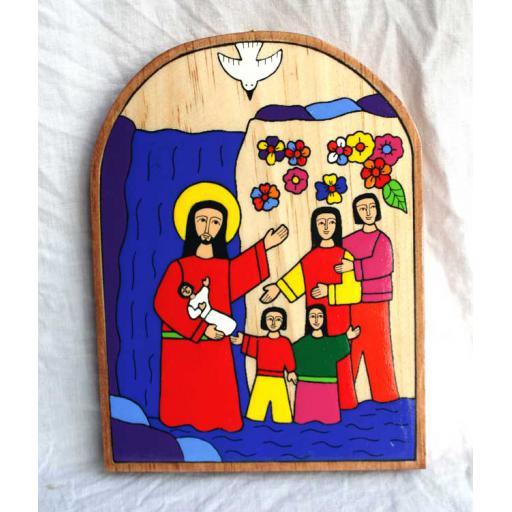 Baptism Plaque