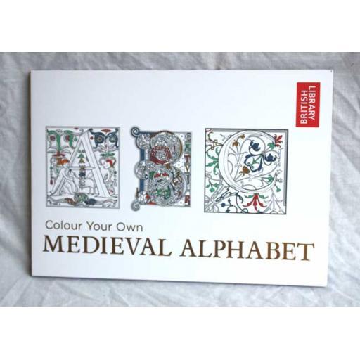 Medieval Alphabet Book