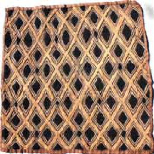 Square Kuba Cloth