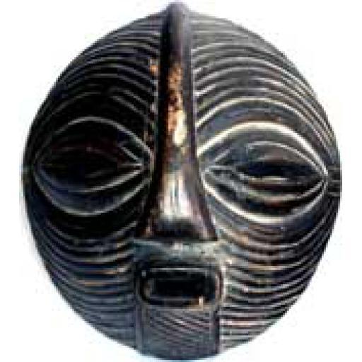 Round Songye Mask