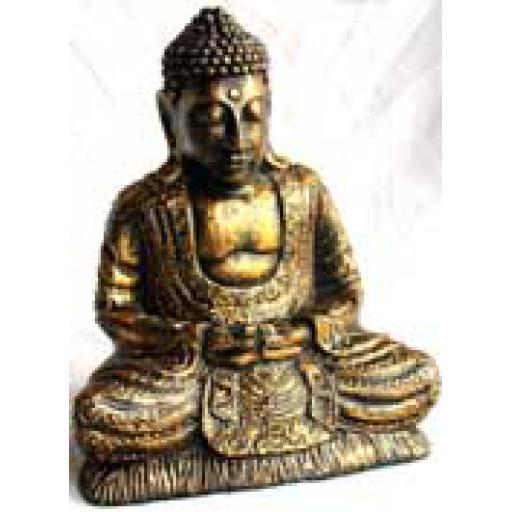 Large Gold Buddha