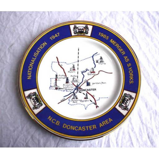S. Yorks. Commemorative Plate