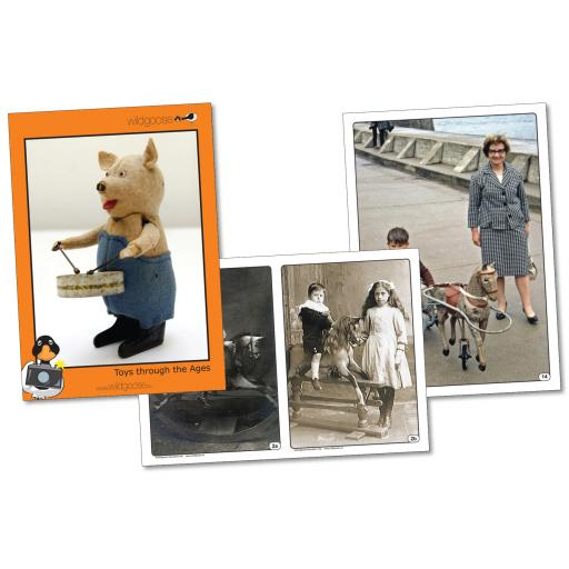 Toys Through the Ages Photopack