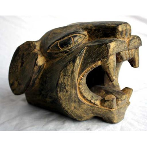 Carved Jaguar Head