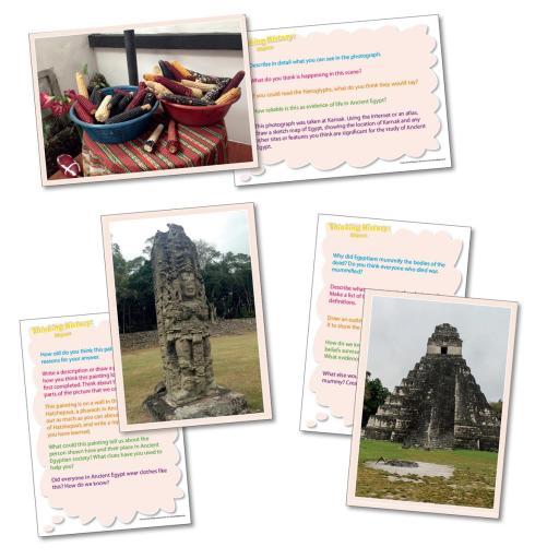 Thinking About History... The Maya