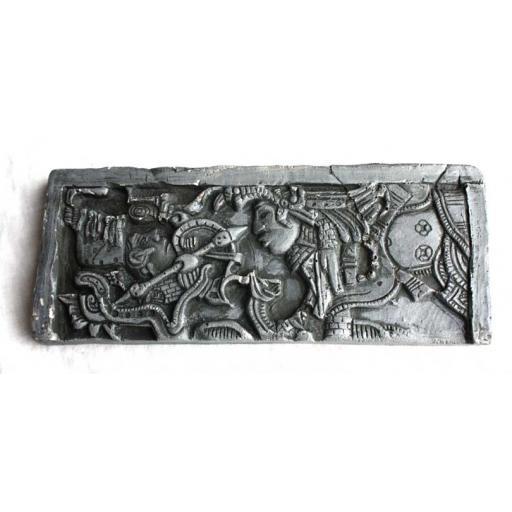 Maya Temple Plaque