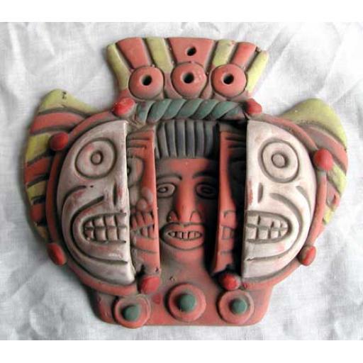Mayan Triple Death Mask