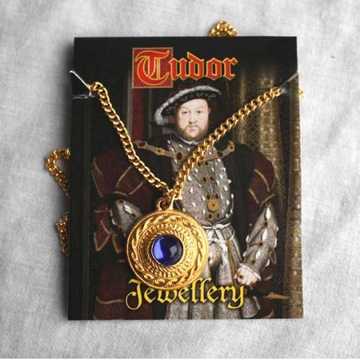 Henry VIII Gold Pendant