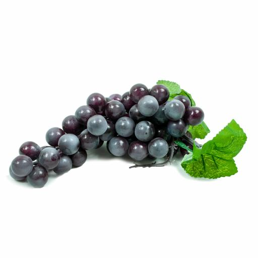 Artificial Bunch of Grapes (Black)