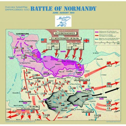 Battle of Normandy Overview SplashMap