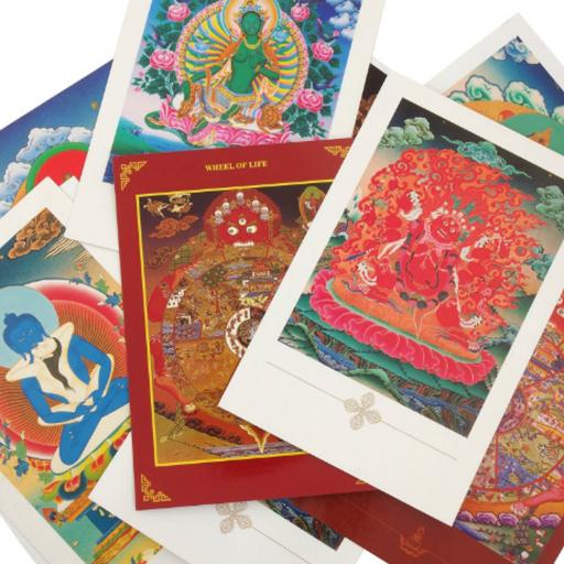Buddhist Themed Postcards (10 Pack)