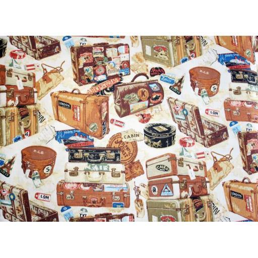 Suitcases Textile