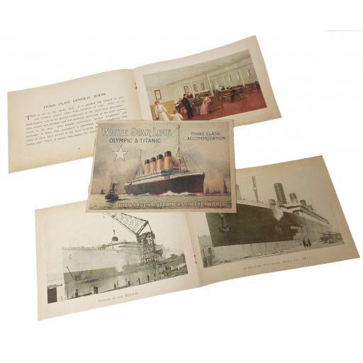 Titanic Brochure