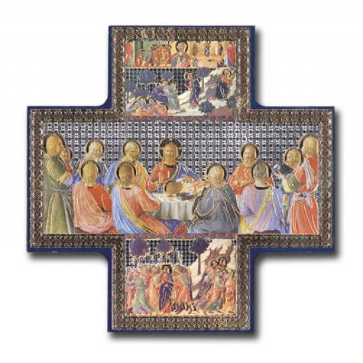 Wood Cross/Icon - Last Supper