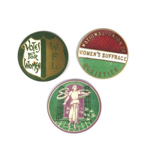 Suffragettes Coaster Set