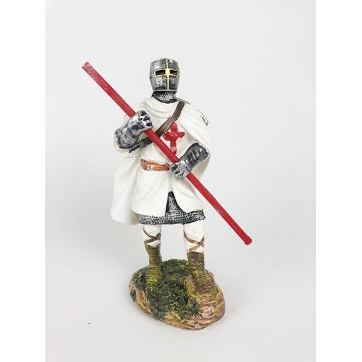 Knight with Staff and Helmet