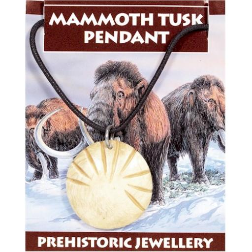 Mammoth Tooth Pendant