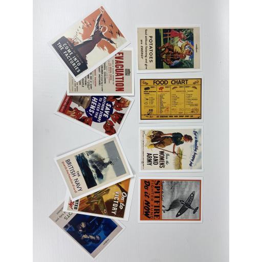 World War II Postcard Set