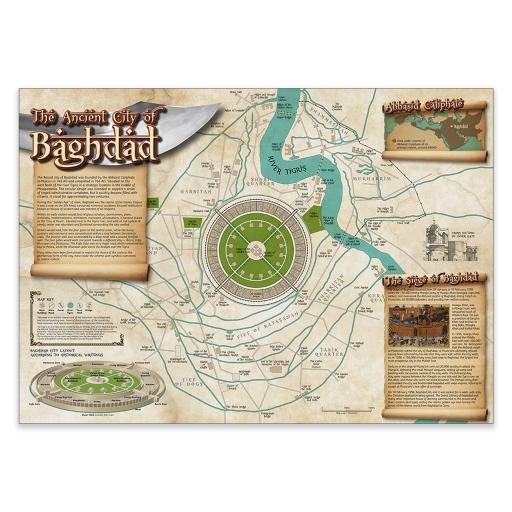 Ancient City of Baghdad Poster and Notes