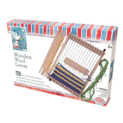 Wooden Wool Loom