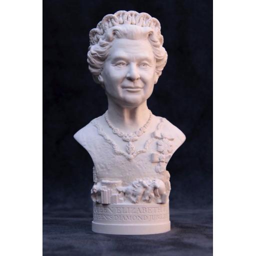 Queen Elizabeth II Bust