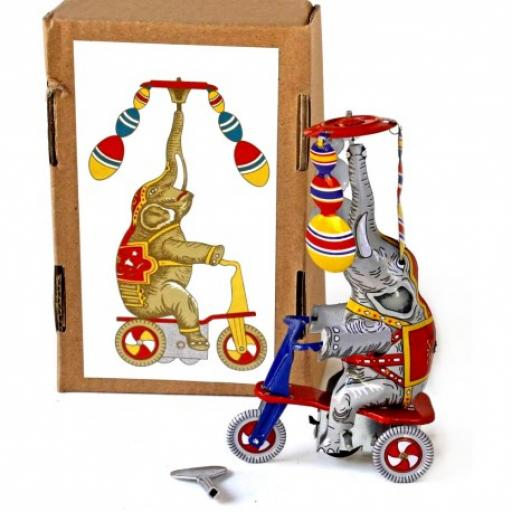 Elephant on Tricycle