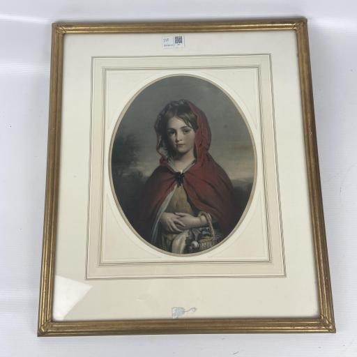 Original Victorian Lithograph