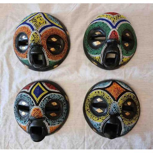 Ashanti Beadwork Mask