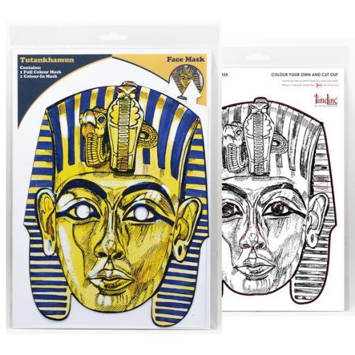 Multi-Purpose Tutankhamun Mask