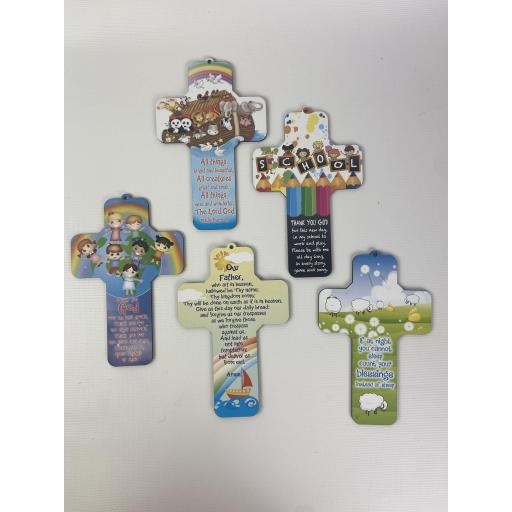 Set of 5 Childrens Plaques