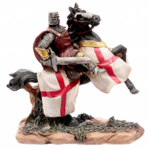 Knight on Horseback with Sword