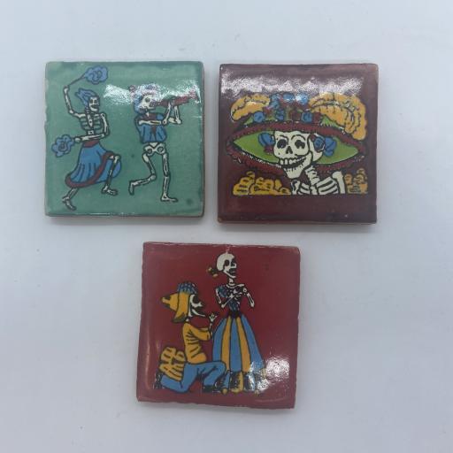 Set of 3 Ceramic Tiles
