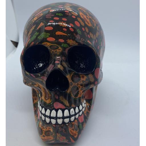 Day of the Dead Print Skull