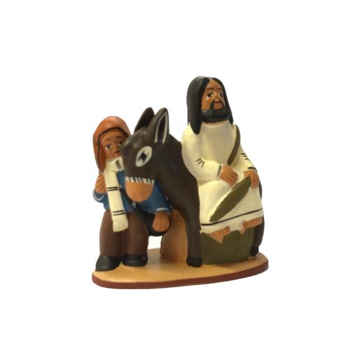 Jesus on a Donkey